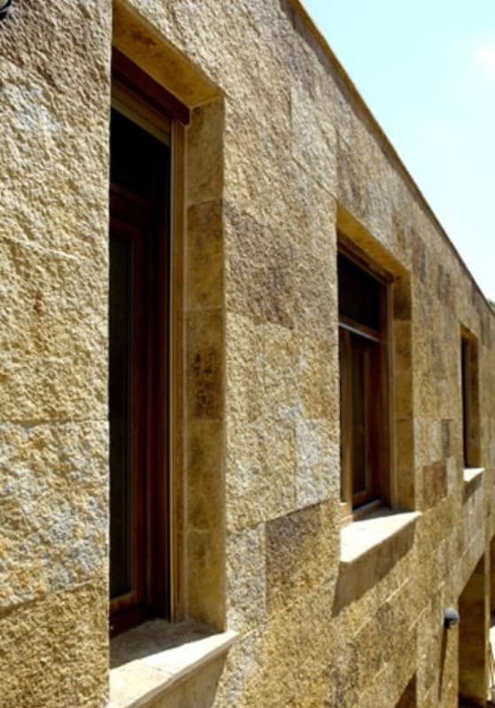 Stone Cladding - Barcelona Gold Natural Cleft Cladding | Metro Brick