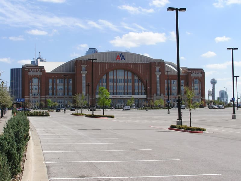 Commercial Brick - American Airlines Center Locker Rooms & More | Metro Brick