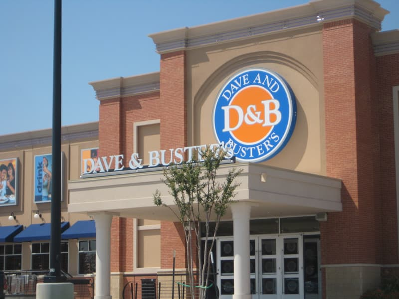 Commercial Brick - Dave & Buster's Nationwide | Metro Brick
