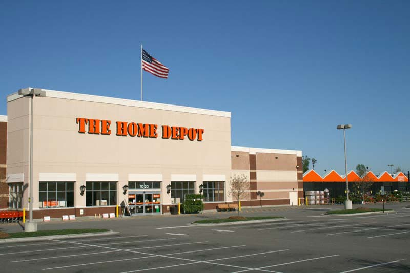 Commercial Brick - Home Depot Stores | Metro Brick