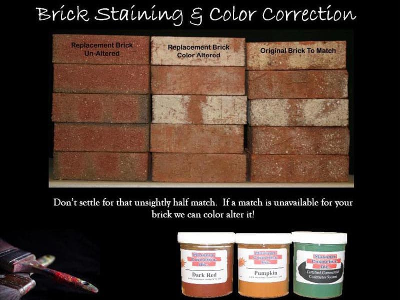 All Specialty - Brick Staining and Color Correction | Metro Brick