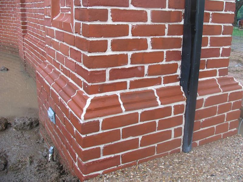 All Specialty - Clay Brick Shapes - Bullnose & Cove Stretchers | Metro Brick