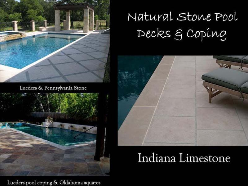 All Specialty - Natural Stone Pool Decks & Coping | Metro Brick
