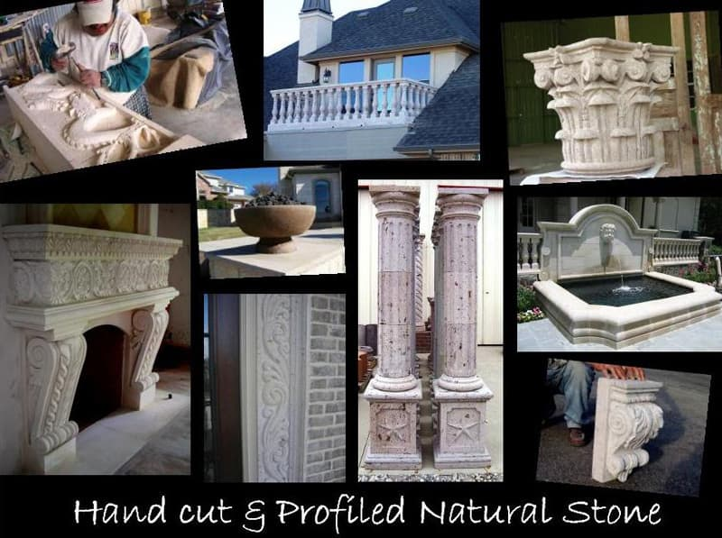 Specialty Stone - Hand Carved Natural Stone | Metro Brick